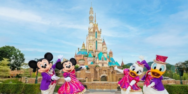 Celebrate Hong Kong Disneyland's 15th anniversary with 45% off hotel room bookings