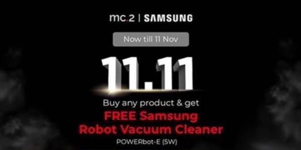 Enjoy 11.11 Deals from mc.2!