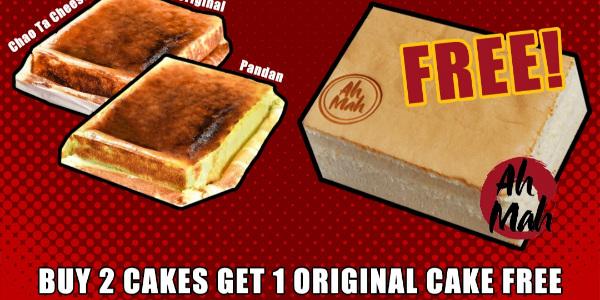 FREE Ah Mah Homemade Cake! (11-13 November 2020)