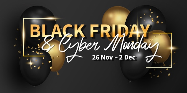 GV Black Friday & Cyber Monday Deal