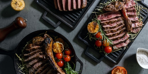 New Steakhouse at VivoCity, Barossa Bar & Grill offers 50% off second mains!