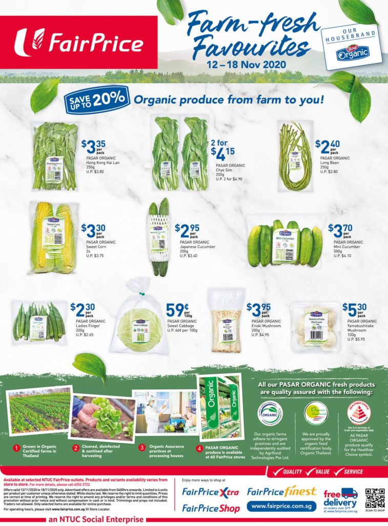 NTUC FairPrice Singapore Your Weekly Saver Promotions 12-18 Nov 2020 | Why Not Deals 9