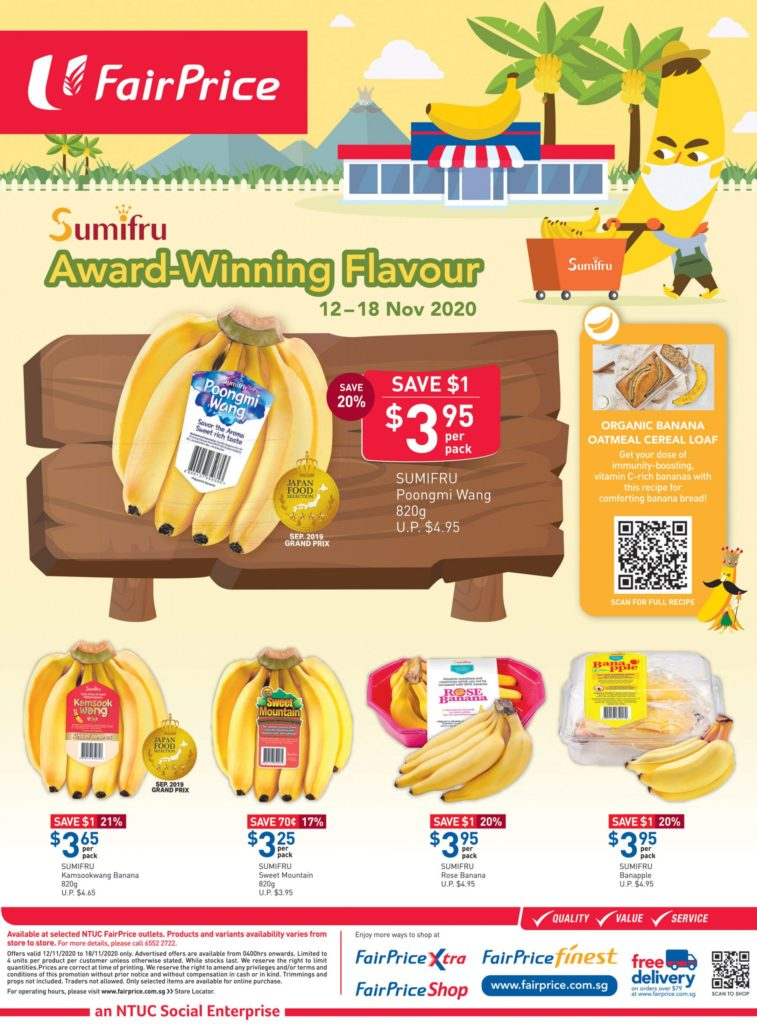 NTUC FairPrice Singapore Your Weekly Saver Promotions 12-18 Nov 2020 | Why Not Deals 10