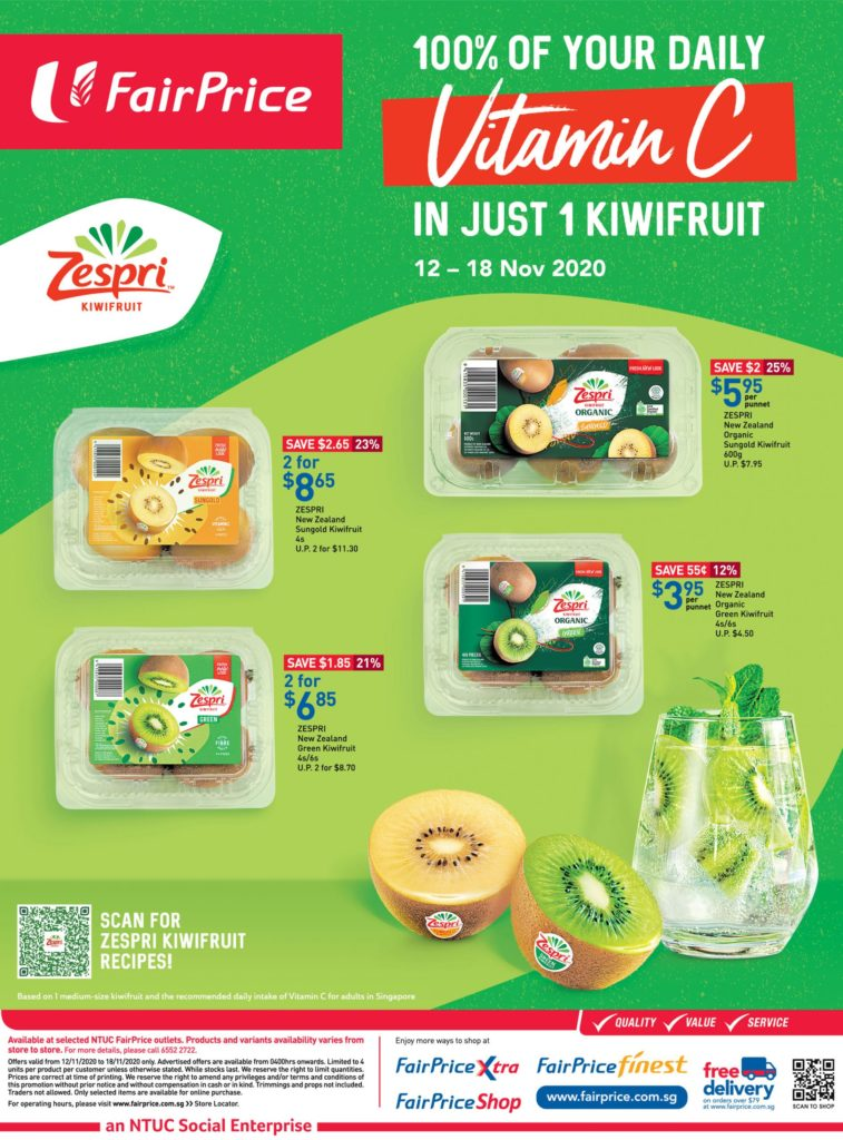 NTUC FairPrice Singapore Your Weekly Saver Promotions 12-18 Nov 2020 | Why Not Deals 11