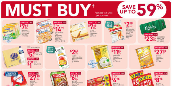 NTUC FairPrice Singapore Your Weekly Saver Promotions 12-18 Nov 2020