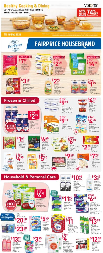 NTUC FairPrice Singapore Your Weekly Saver Promotions 12-18 Nov 2020 | Why Not Deals 2