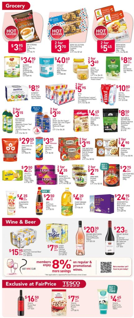 NTUC FairPrice Singapore Your Weekly Saver Promotions 12-18 Nov 2020 | Why Not Deals 3