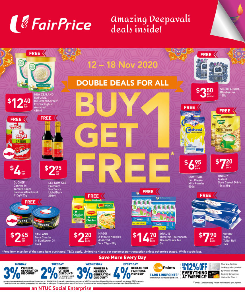 NTUC FairPrice Singapore Your Weekly Saver Promotions 12-18 Nov 2020 | Why Not Deals 5