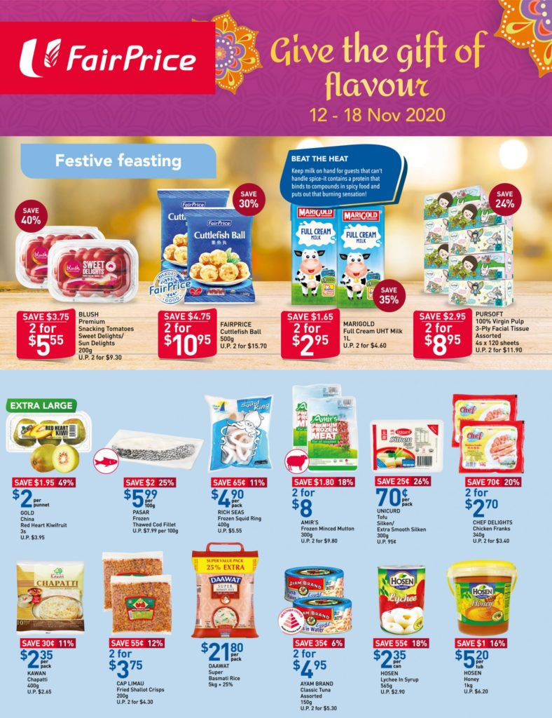NTUC FairPrice Singapore Your Weekly Saver Promotions 12-18 Nov 2020 | Why Not Deals 6