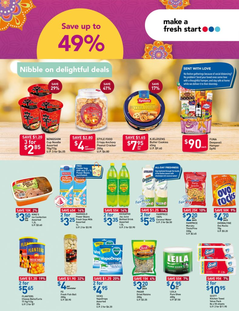 NTUC FairPrice Singapore Your Weekly Saver Promotions 12-18 Nov 2020 | Why Not Deals 7