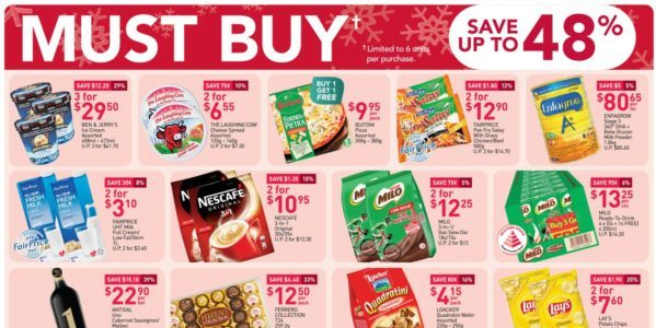 NTUC FairPrice Singapore Your Weekly Saver Promotions 19-25 Nov 2020