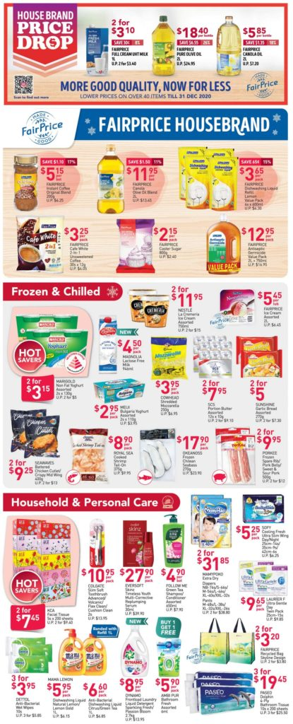 NTUC FairPrice Singapore Your Weekly Saver Promotions 19-25 Nov 2020 | Why Not Deals