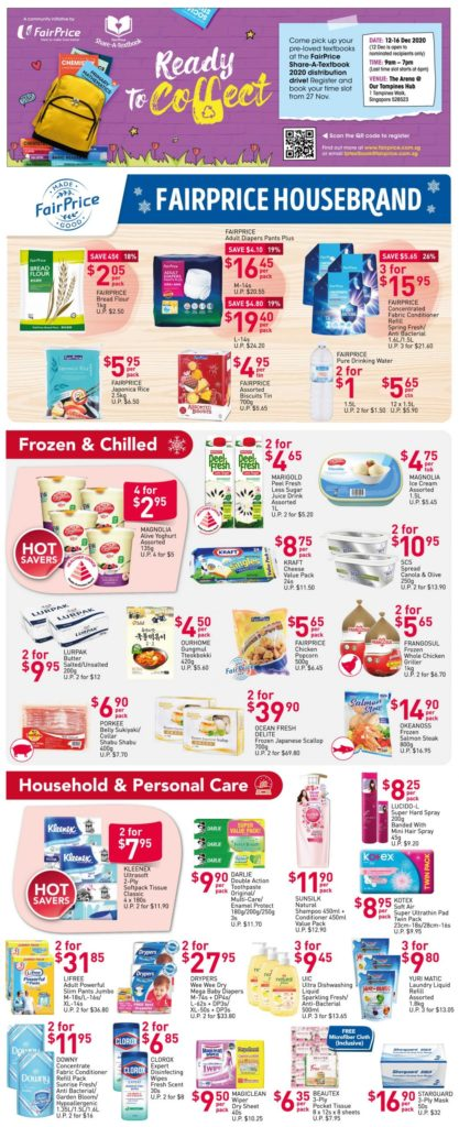NTUC FairPrice Singapore Your Weekly Saver Promotions 26 Nov - 2 Dec 2020   Why Not Deals 4