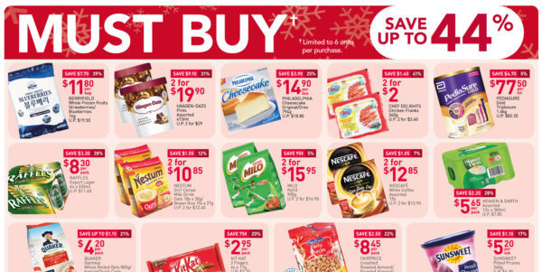 NTUC FairPrice Singapore Your Weekly Saver Promotions 26 Nov – 2 Dec 2020