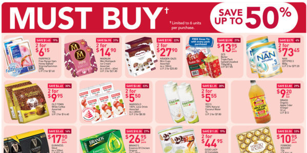 NTUC FairPrice Singapore Your Weekly Saver Promotions 5-11 Nov 2020