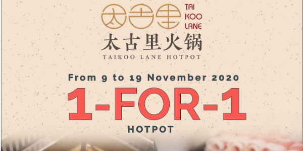[Promotion] Enjoy 1-for-1 soup bases at Taikoo Lane Hotpot to celebrate 11:11