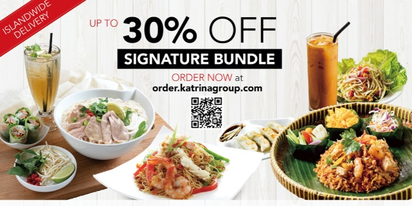 [Promotion] Enjoy Your Favourite Asian Cuisines With Up to 30% OFF and Islandwide Delivery!