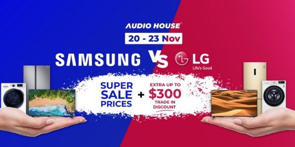 [Samsung vs LG Battle] Get Extra Up to $300 Trade-in Discount + Super Sale Prices This Weekend!