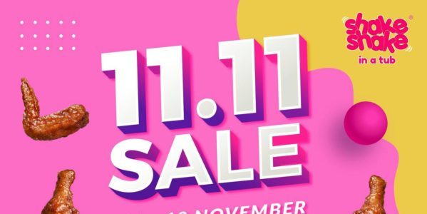 Shake Shake In A Tub Singapore 11.11 Sale From 11-18 Nov 2020