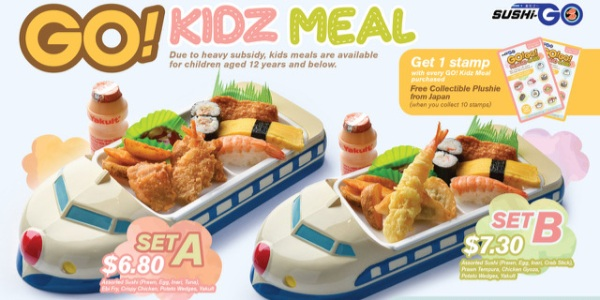 Sushi-Go Launches GO! Kidz Meal starting from $6.80