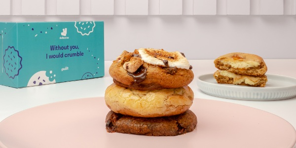 Sweeten up National Cookie Day with an exclusive gift set from Deliveroo and Guilt