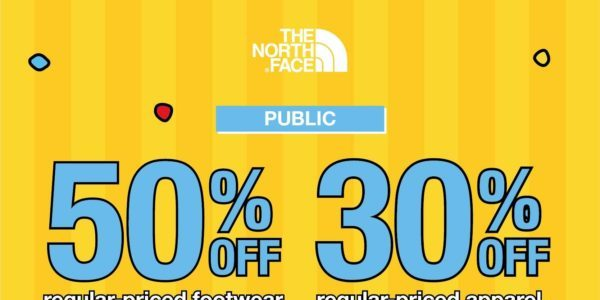The North Face Singapore 50% Off Regular-Priced Footwear Promotion ends 25 Nov 2020