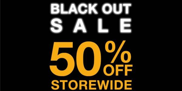 The North Face Singapore Black Out Sale 50% Off Storewide Promotion 26-30 Nov 2020