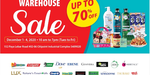 Warehouse Sale – Up to 70% off