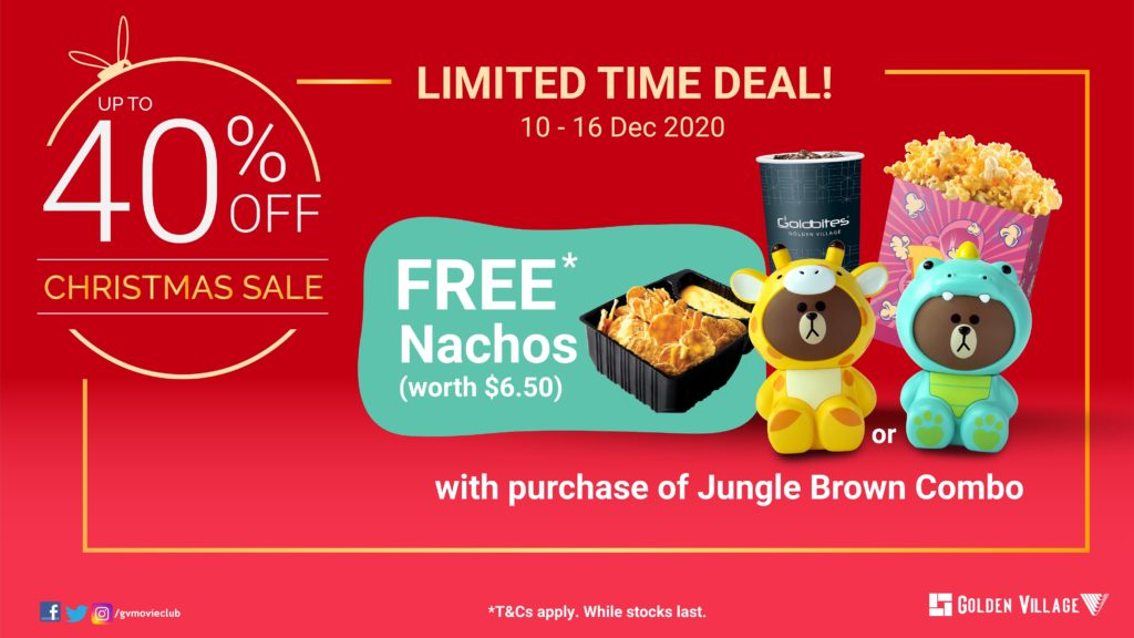 Enjoy Christmas Gifting Deals of up to 40% off with Golden Village | Why Not Deals 2