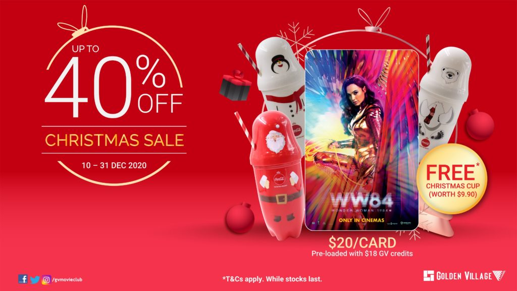Enjoy Christmas Gifting Deals of up to 40% off with Golden Village | Why Not Deals 1