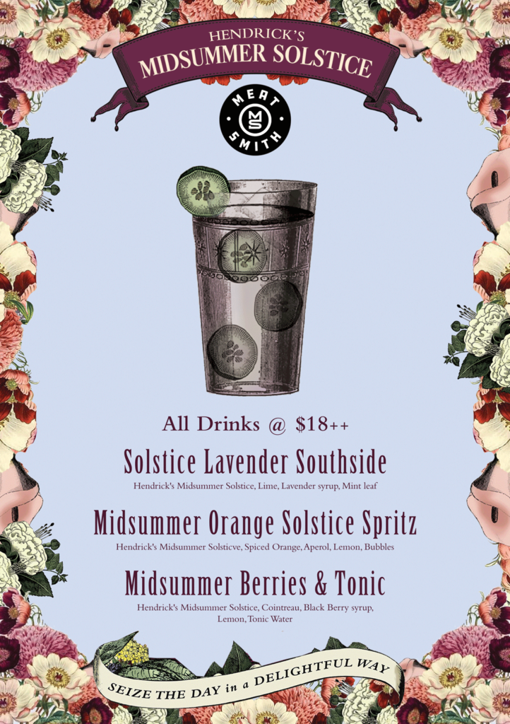 Indulge in floral magic with Hendrick's Midsummer Solstice cocktails at your favourite watering hole | Why Not Deals 4