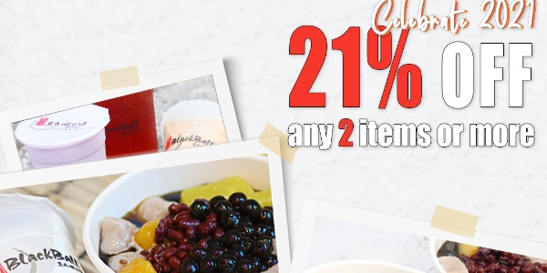 Blackball Singapore Celebrate 2021 – Get 21% OFF Promotion ends 4 Jan 2021