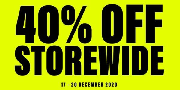 Crumpler Singapore Members Exclusive 40% Off Storewide Promotion 17-20 Dec 2020