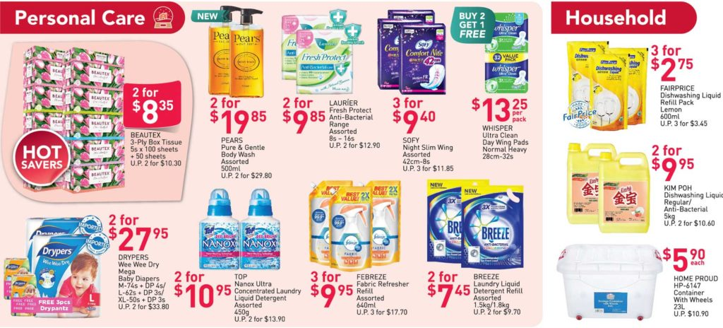 NTUC FairPrice Singapore Your Weekly Saver Promotion 17-23 Dec 2020 | Why Not Deals 4