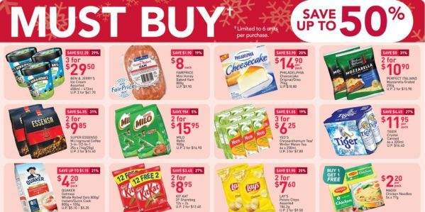 NTUC FairPrice Singapore Your Weekly Saver Promotion 17-23 Dec 2020