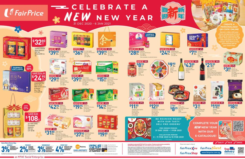 NTUC FairPrice Singapore Your Weekly Saver Promotion 31 Dec 2020 - 6 Jan 2021 | Why Not Deals 6