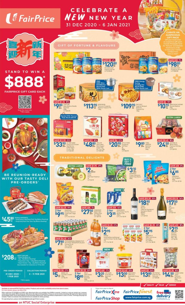 NTUC FairPrice Singapore Your Weekly Saver Promotion 31 Dec 2020 - 6 Jan 2021 | Why Not Deals 7