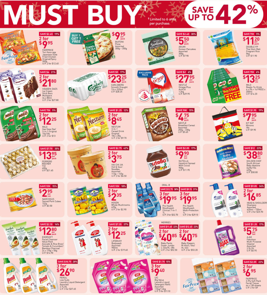 NTUC FairPrice Singapore Your Weekly Saver Promotions 10-16 Dec 2020 | Why Not Deals 7