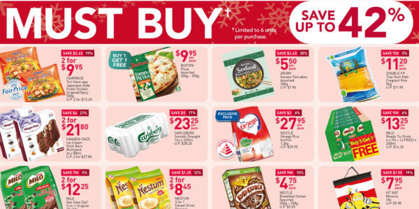 NTUC FairPrice Singapore Your Weekly Saver Promotions 10-16 Dec 2020