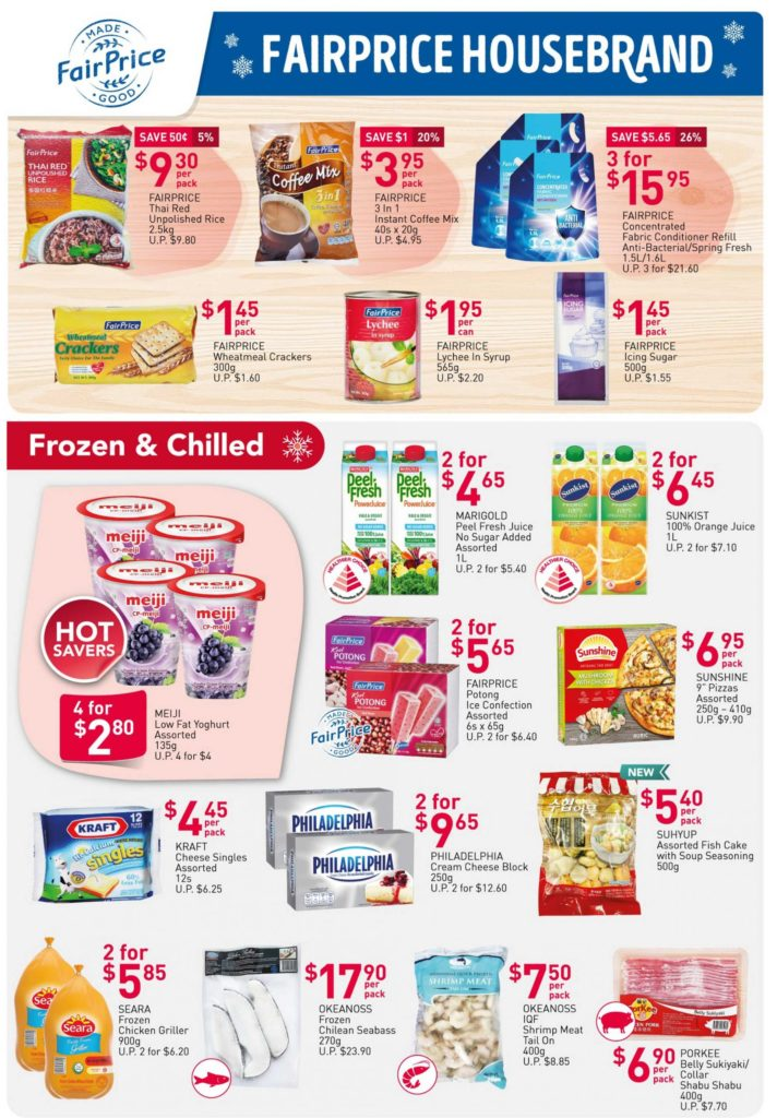 NTUC FairPrice Singapore Your Weekly Saver Promotions 24-30 Dec 2020   Why Not Deals 2