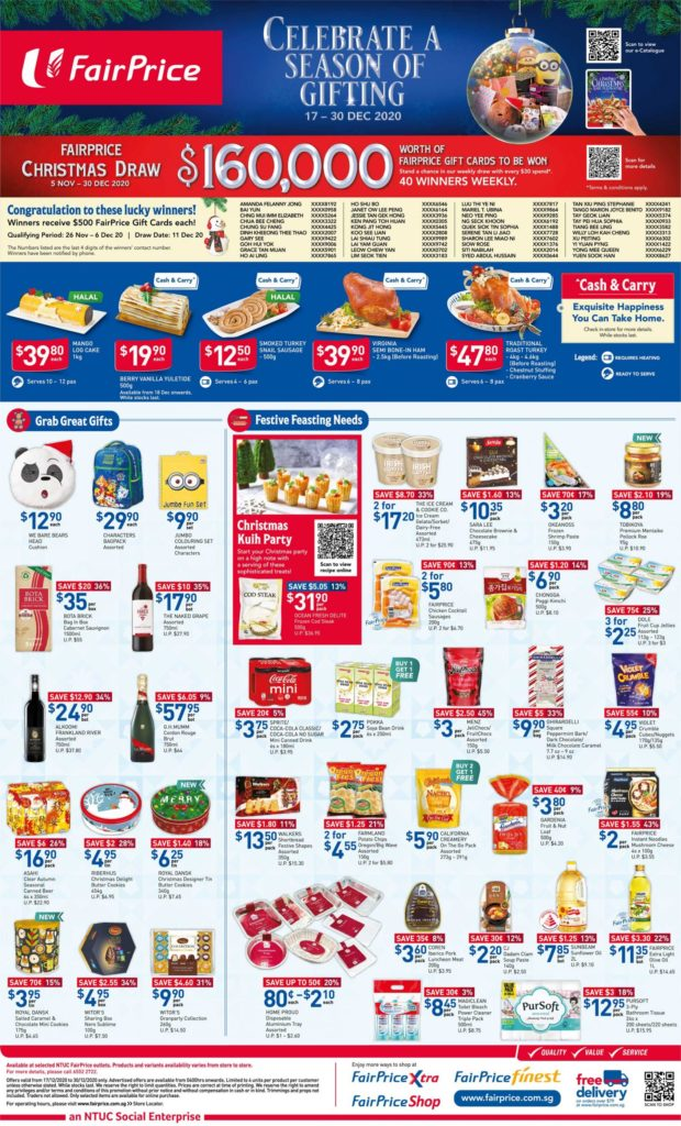 NTUC FairPrice Singapore Your Weekly Saver Promotions 24-30 Dec 2020   Why Not Deals 7