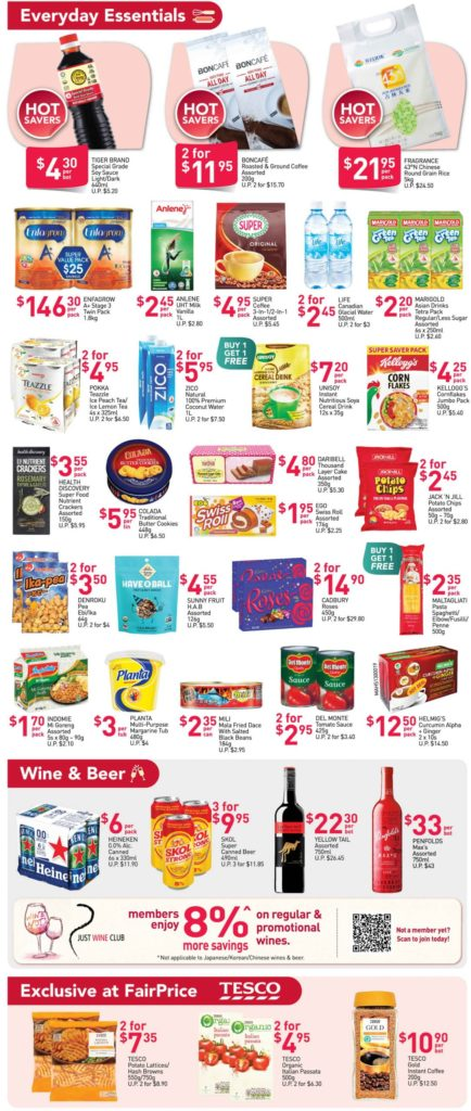 NTUC FairPrice Singapore Your Weekly Saver Promotions 3-9 Dec 2020   Why Not Deals 2