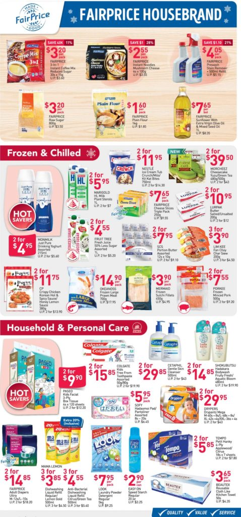 NTUC FairPrice Singapore Your Weekly Saver Promotions 3-9 Dec 2020   Why Not Deals 3