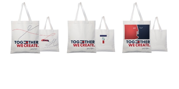 Support Design Students and the Save Our Education initiative Buy Tommy Hilfiger Tote Bags at $49