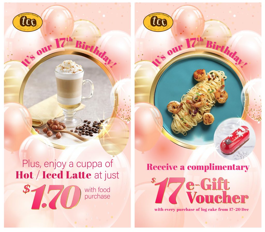 Enjoy $1.70 Latte and A Complimentary $17 Voucher for tcc- The Connoisseur Concerto's 17th Birthday | Why Not Deals 1
