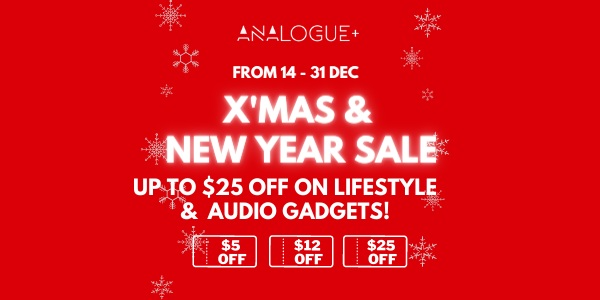 Up to $25 OFF on lifestyle and audio gadgets this Christmas Sale!