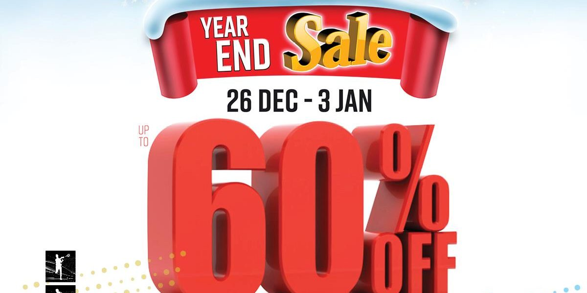 World of Sports Singapore MASSIVE Year End SALE Up To 60% Off Promotion 26 Dec 2020 – 3 Jan 2021