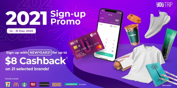 YouTrip 2021 Sign-up Promo