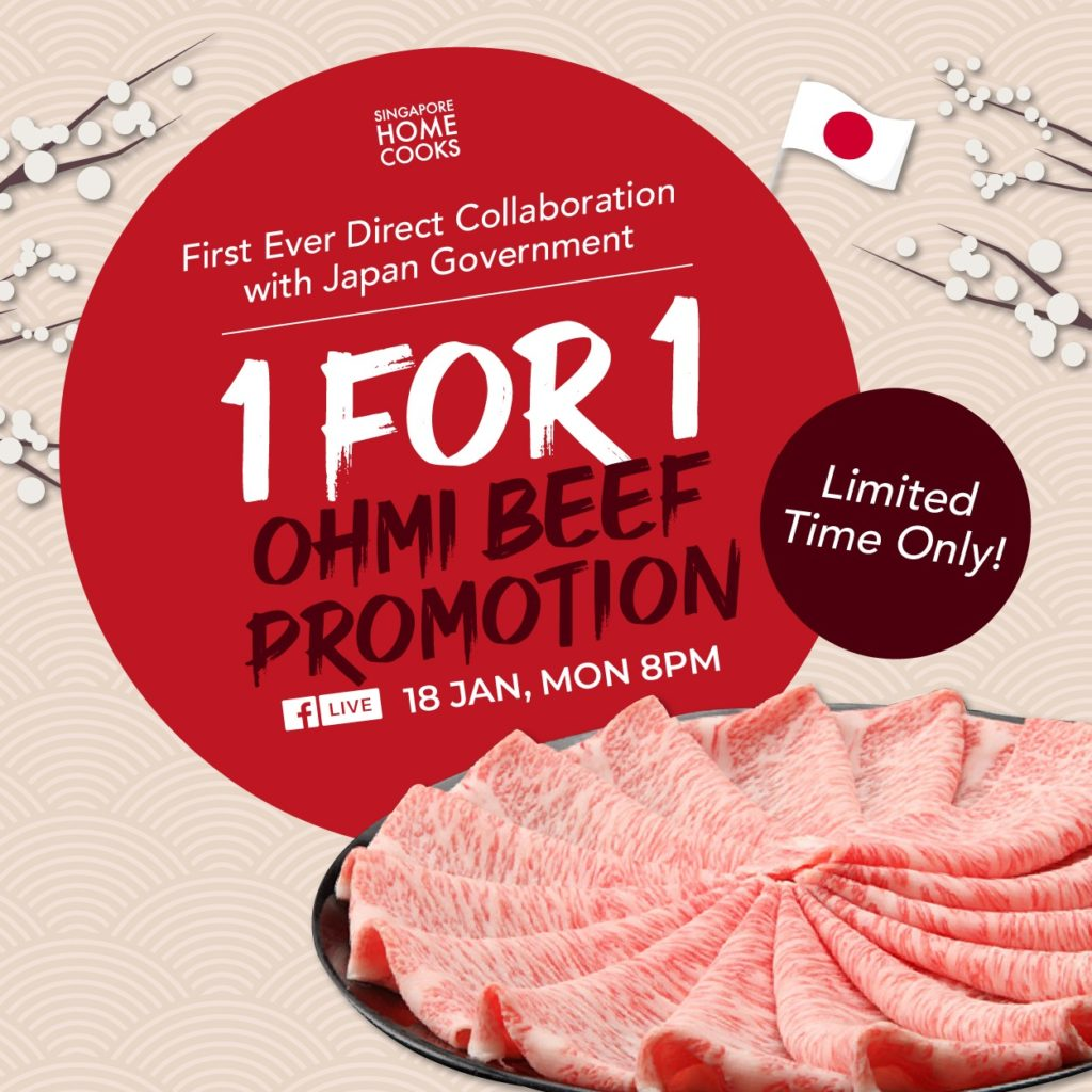 1 for 1 Ohmi Beef Promotion | Why Not Deals 1