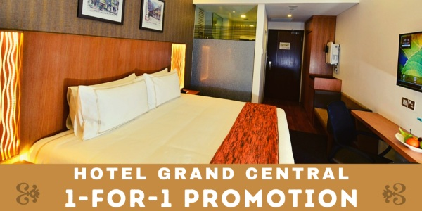 1-for-1 HGC plush Deluxe Double Room Promotion – Weekend getaway with Free Late Checkout & More